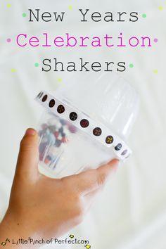 New Years Celebration Shakers