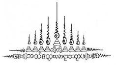 Yant Gao Yord Nine Spires Sak Thai Temple Tattoos