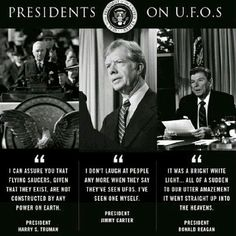 Ufos and presidents