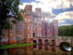 Herstmonceux Castle near Eastbourne, England