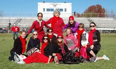 The inaugural Red Dress Powder Puff football game fundraiser at the Lakota East soccer stadium on the campus of Hopewell Junior School this past Saturday brought in 43 attendees and raised roughly $500.