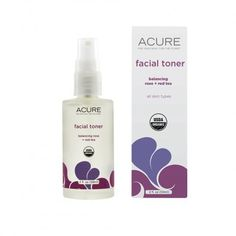 Acure Organics Facial Toner - Balancing Rose + Red Tea