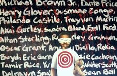 Next in Line? A painting by Andre Rochester, Artsrow.com artist. We're proud to say 50% of the proceeds go to Cop-Citizen Alliance Workshops. http://artsrow.com/product/next-in-line/