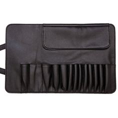 BININBOX Faux Leather Cosmetic Makeup Brush Bag Belt Strap Button (12 Hole) >>> Details can be found by clicking on the image. (This is an affiliate link) #BagsCases