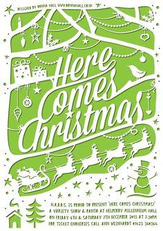 Here Comes Christmas! on Behance