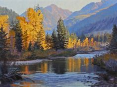 Landscape painting by Jay Moore