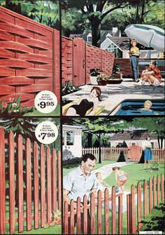 These colorful pages from old Sears catalogs will get you in the mood for spring