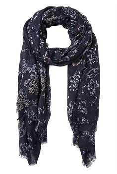 Witchery Winter Floral Scarf