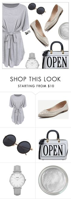 """Shein"" by simona-altobelli ❤ liked on Polyvore featuring Moschino, Topshop and Silver Lining"