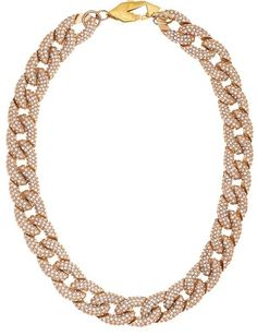 Rebecca-Minkoff-pave-chain-link-necklace