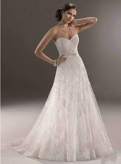 A-Line New Arrival Lace Applique Organza A-line Corset Back Wedding Dress Patterns Free Measurement