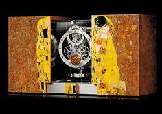 Jaeger-LeCoultre Atmos Marqueterie Gustav Klimt