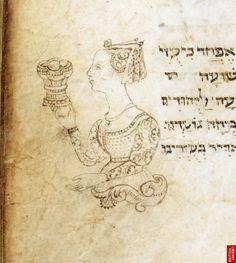 Prayer book (siddur), Italian rite Italy, N.; 1469