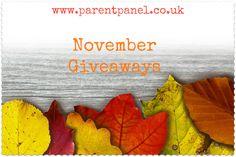 November Giveaways