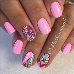 Look through our collection of 40 summer nail designs! We have all the most fabulous acrylic nail designs for summer for you to choose from! Pink Acrylic Nails, Acrylic Nail Designs, Glitter Nails, Nail Art Designs, Nail Manicure, Diy Nails, Cute Nails, Pretty Nails, Gorgeous Nails