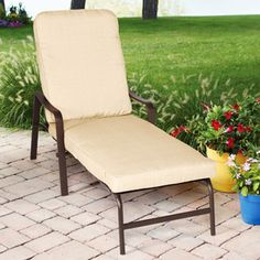 Chaise lounges better homes and gardens and home and for Better homes and gardens hillcrest outdoor chaise lounge