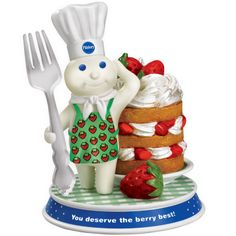 Doughboy Delights Figurine Collection - Berry Best