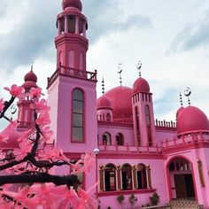 Islam in Pink? Check Out This Gorgeous Strawberry Pink Mosque in the Philippines - Earthables