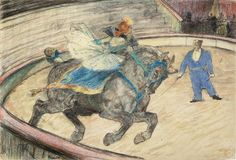 Toulouse-Lautrec At the Circus: Work in the Ring