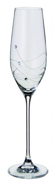 Dartington Crystal - Glitz - Flute (pair)