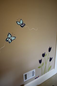 Murals for Eve's room