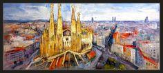 Ernest Descals.Artista Pintor: BARCELONA-PINTURA-PAISAJES-CUADROS-PANORAMICAS-CAT...