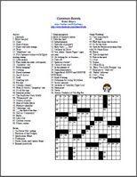 60 Best Crossword Puzzles images | Crossword puzzles ...