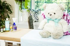 Want to insure your child's teddy bear is kept clean for many years? Kristin Smith shows you how! For more DIY's, watch Home & Family weekdays at 10a/9c on Hallmark Channel!