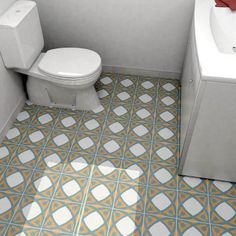 Merola Tile Revival Tulip 7-3/4 in. x 7-3/4 in. Ceramic Floor and Wall Tile-FRC8REVT - The Home Depot