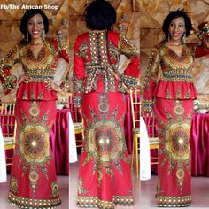 Dasmina Set 2 by THEAFRICANSHOP ~African Prints, African women dresses, African fashion styles, african clothing
