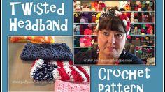 Twisted Headband Crochet Pattern