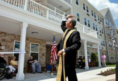 Archbishop Lori recently blessed Village Crossroads, a Catholic Charities' affordable senior housing community. The 1,700 people already on the waiting list highlight the need for funding for similar housing projects.