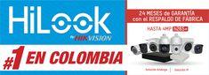 HiLook una marca Hikvision cada vez más preferida por las personas que necesitan un sistema electrónico de seguridad por su calidad, precio y garantía 100% por su fabricante Hikvision