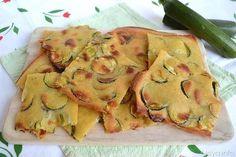 Schiacciatina di zucchine, scopri la ricetta: http://www.misya.info/2007/06/22/schiacciatina-di-zucchine.htm