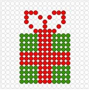 All About Diy and Craft Hama Beads Christmas, Crochet Christmas Gifts, Christmas Cross, Xmas Cross Stitch, Cross Stitching, Hama Beads Patterns, Beading Patterns, Pixel Art Noel, Cross Stitch Designs