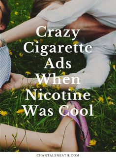 You won't believe your eyes when you check out these vintage cigarette ads I found. Of course these were marketed way before the world discovered just how deadly nicotine was. Click this link to see just how far cigarette companies went to peddle their toxic products: http://www.chantalsneath.com/blog/2017/1/20/unbelievable-cigarette-ads-from-the-past  busy mom, healthy mom, healthy food, health tips, health and fitness