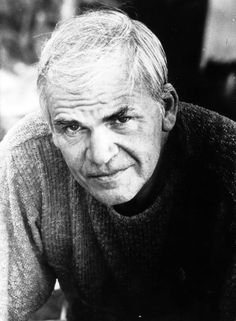 Milan Kundera- author of The Unbearable Lightness of Being