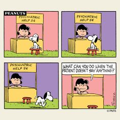 Thursday with Snoopy and Lucy. Lucy Van Pelt, Snoopy Comics, Peanuts Cartoon, Peanuts Snoopy, Peanuts Comics, Charles Shultz, Peanuts By Schulz, Charlie Brown And Snoopy, Classic Comics