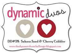 Stampin' Anne: Merry Gingerbread Christmas for Dynamic Duos #28