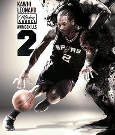 Kawhi Leonard. San Antonio Spurs  wmcskills 1630c59d6