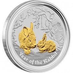 THE PERTH MINT AUSTRALIAN LUNAR SILVER COIN SERIES II 2011 YEAR OF THE RABBIT GILDED EDITION in stock and has just been added to http://www.finesilvercoins.co.uk/australian-lunar-silver-coin-series-ii-2011-year-of-the-rabbit-gilded-edition/