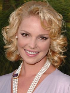 Katherine Heigl good for the shape of my face and curl