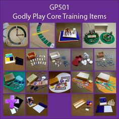GP501-GODLY PLAY CORE TRAINING ITEMS