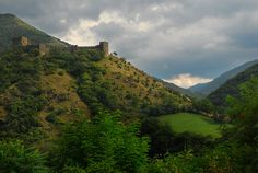 Medieval #fortress Maglic in Serbia.