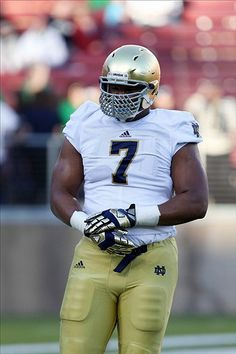 Notre Dame Fighting Irish Stephon Tuitt Pittsburgh Steelers 2nd rd 2014 draft pick.