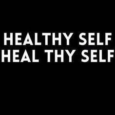 Keep yourself healthy and your body will thank you for it. Treat your body healthy and you'll see that your body can heal itself easier and feeling better regularly. If you put crap in then your going to look like crap.
