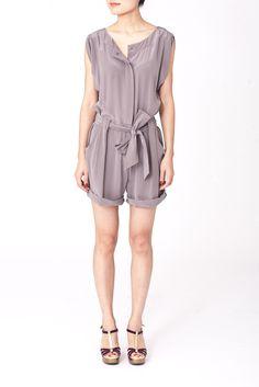 Image of Celia jumpsuit, Taupe