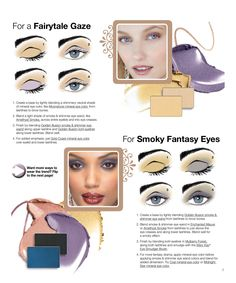 Fairytales and fantasy looks in the new fall Mary Kay trend report.