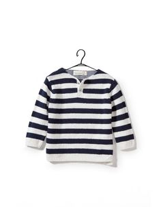 TWO-TONE STRIPED SWEATER - Collection - Baby boy (3-36 months) - Kids - SALE - ZARA