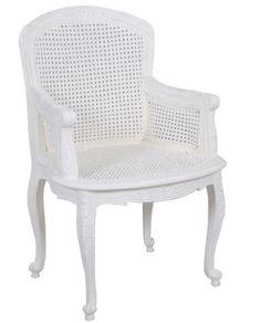 Polo Chair - White – Allissias Attic & Vintage French Style